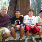 Exploring Sequoia with Balta and his cousins