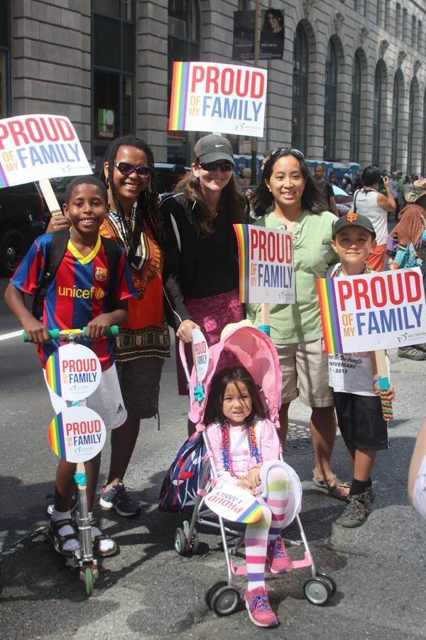 proud couple of families, OFC contingent, 2013 SF LGBTQ Pride