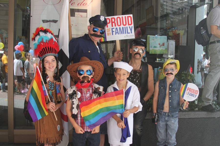 yes, the Village People family, OFC contingent, 2013 SF LGBTQ Pride